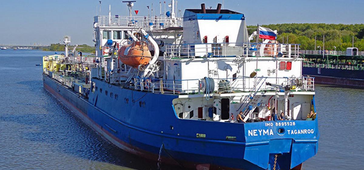 Российский танкер задержан службой безопасности Украины