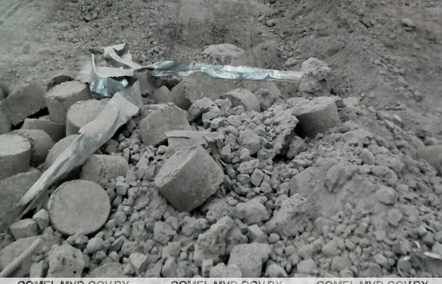 Водитель грузовика в Жлобине пытался похитить с завода 14 тонн лома черного металла