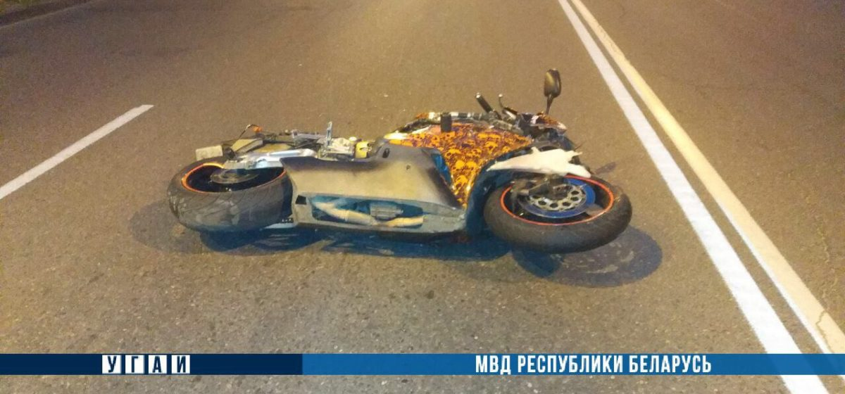 В Новополоцке Renault не пропустил мотоцикл – байкер погиб