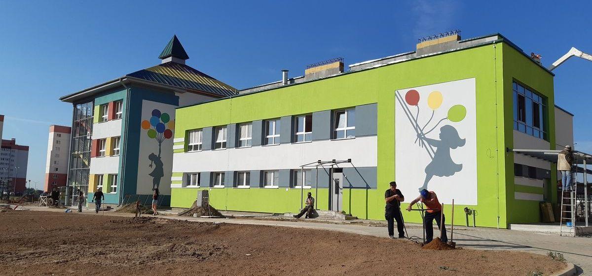 Как идет строительство нового детского сада в Барановичах. Фоторепортаж
