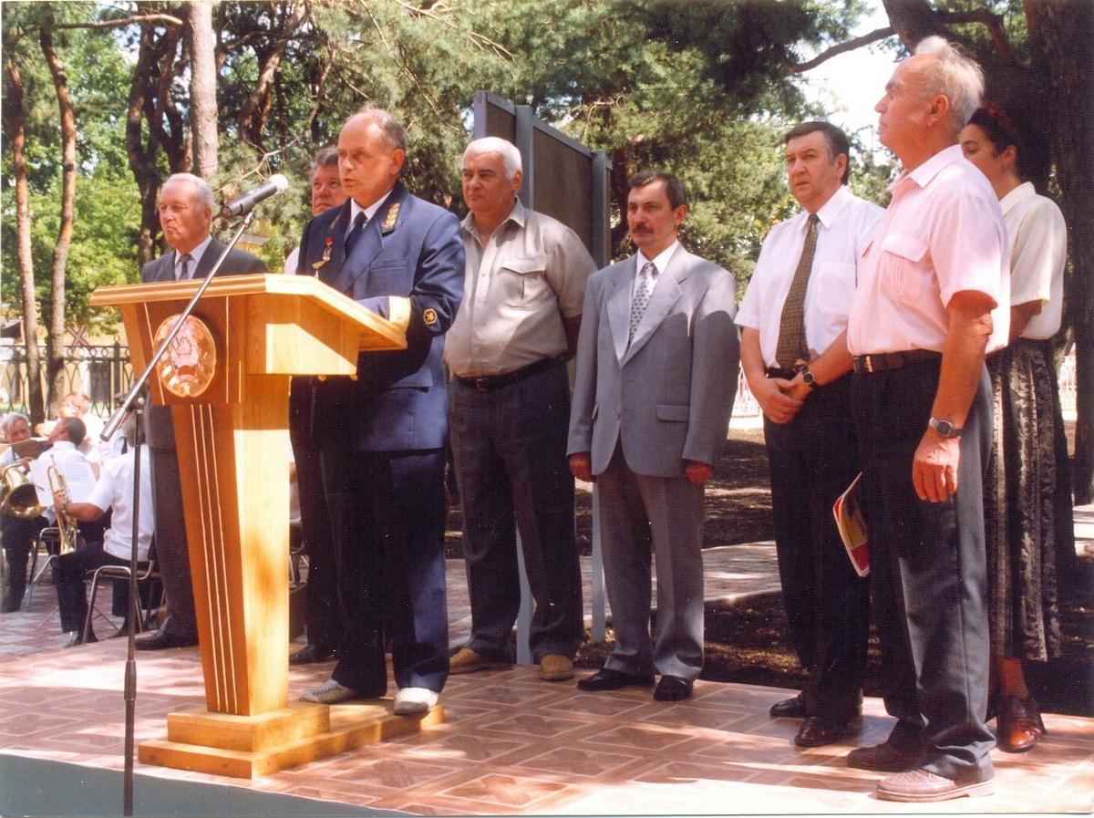Открытие музея БЖД 1999 год. Фото Барановичского музея железной дороги