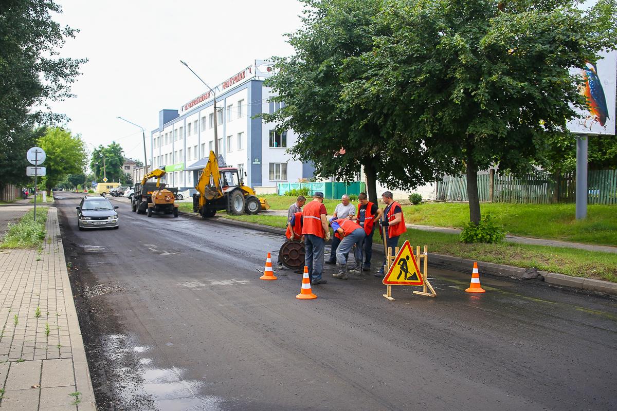 Июнь 2019 года. Ремонтные работы на улице Куйбышева. Фото: Татьяна МАЛЕЖ