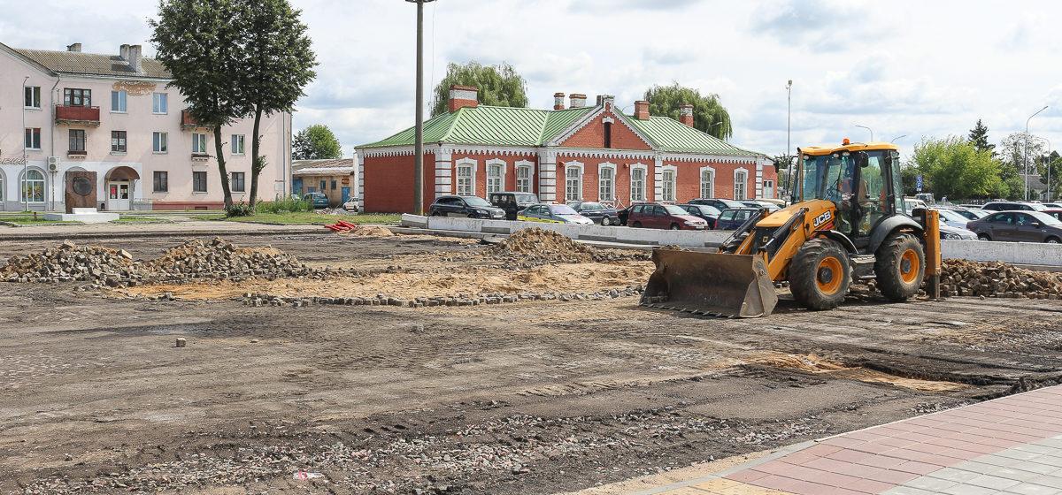 Барановичские власти рассказали, что будет со старинной брусчаткой с привокзальной площади