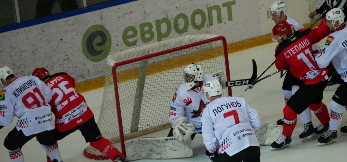 Барановичский ХК «Авиатор» впервые одержал победу в чемпионате, еще и гостевую