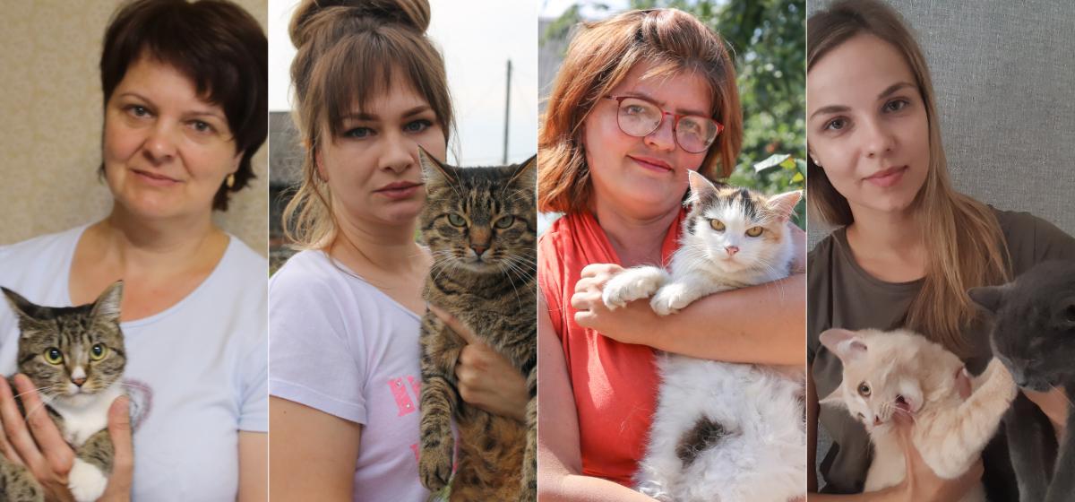 «Одного котенка забрали с рельсов, а второго нам подбросили». Жители Барановичей – о том, почему берут животных с улицы