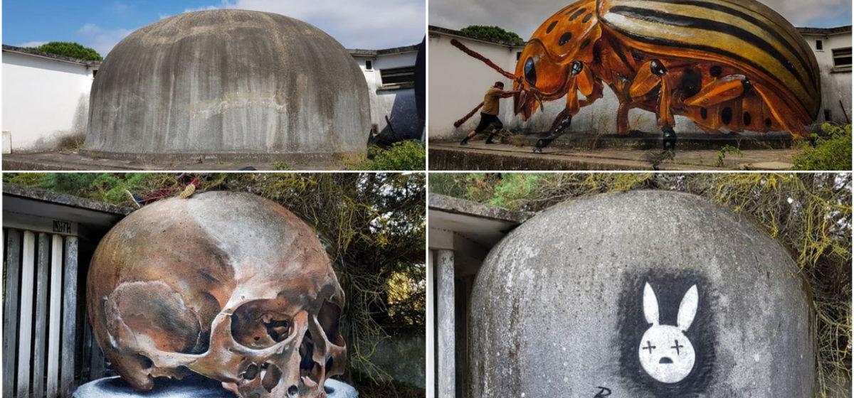 Уличный художник создает невероятно реальные 3D граффити, от которых захватывает дух