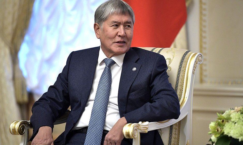 Дворец экс-президента Кыргызстана Алмазбека Атамбаева штурмовал спецназ. Есть раненые. Видео