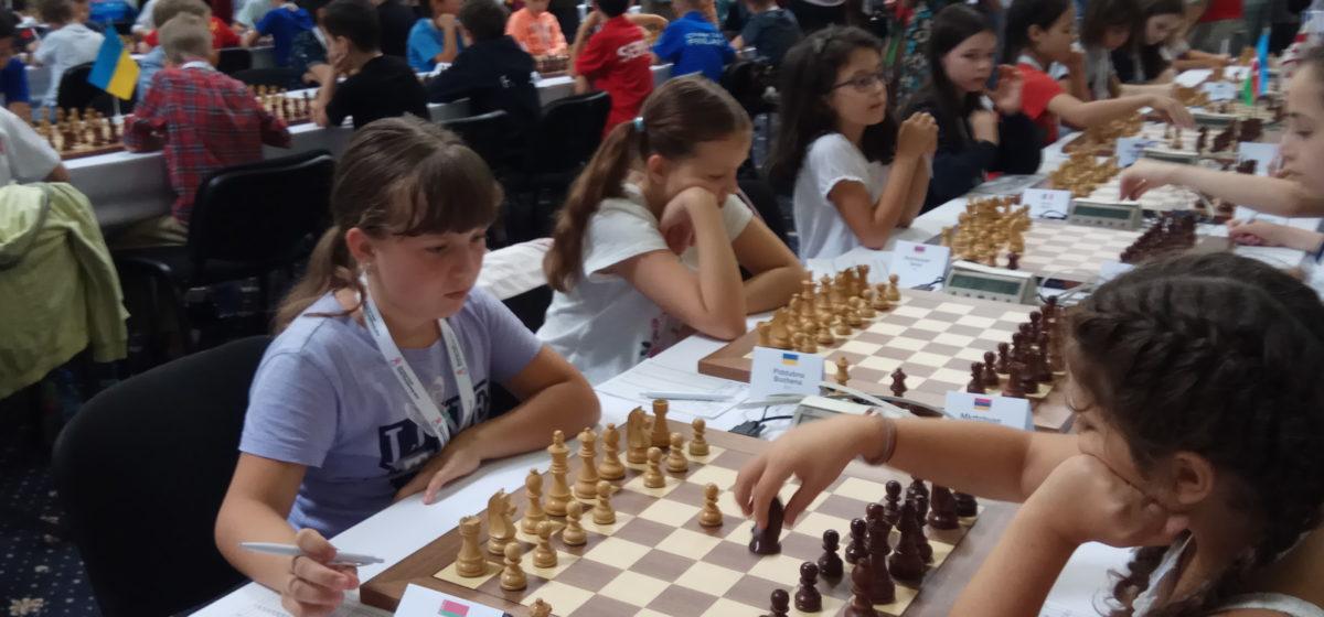 Юная барановичская шахматистка вошла в восьмерку лучших на первенстве Европы
