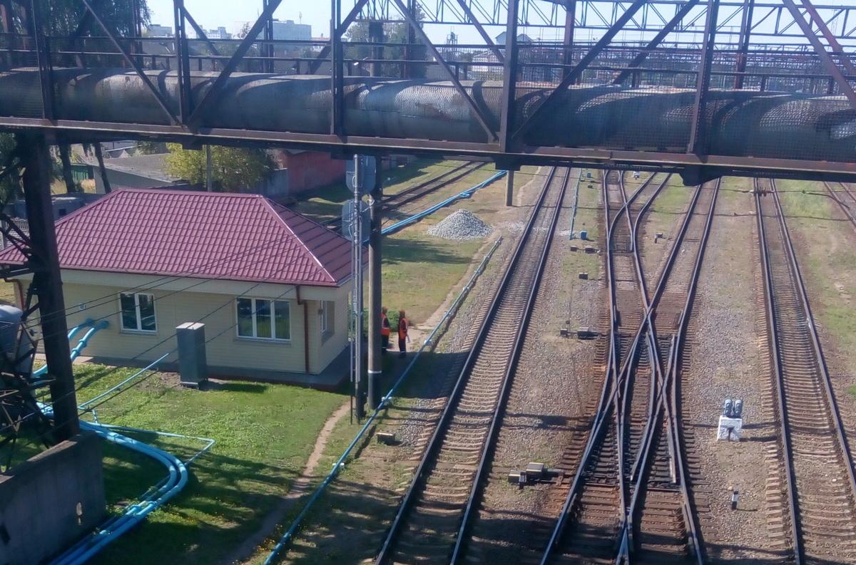 Пост №7, сотрудница которого сообщила о ЧП на мосту в ОВДТ. Фото: Ангелина БАБЫЛЕВА