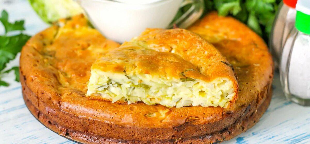 Вкусно и просто. Капустный пирог