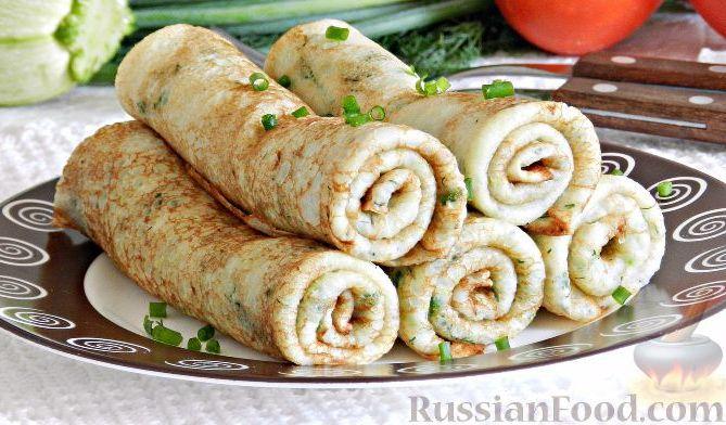 Вкусно и быстро: блины из кабачков с сыром
