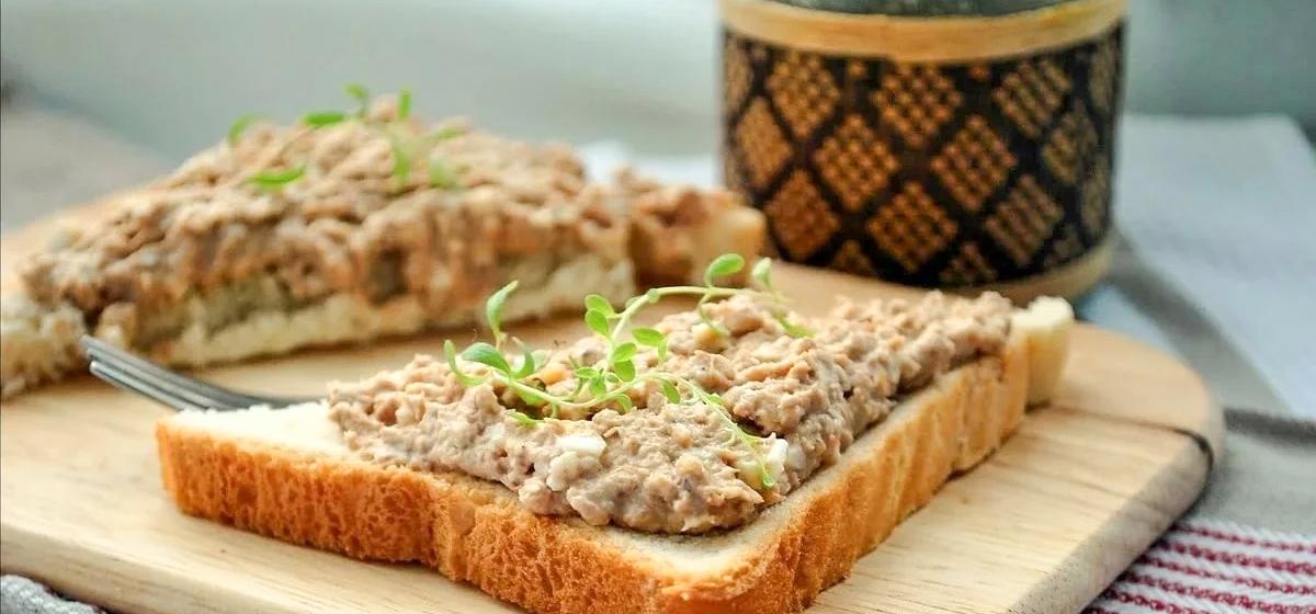 Вкусно и просто. Бутерброды с домашним паштетом