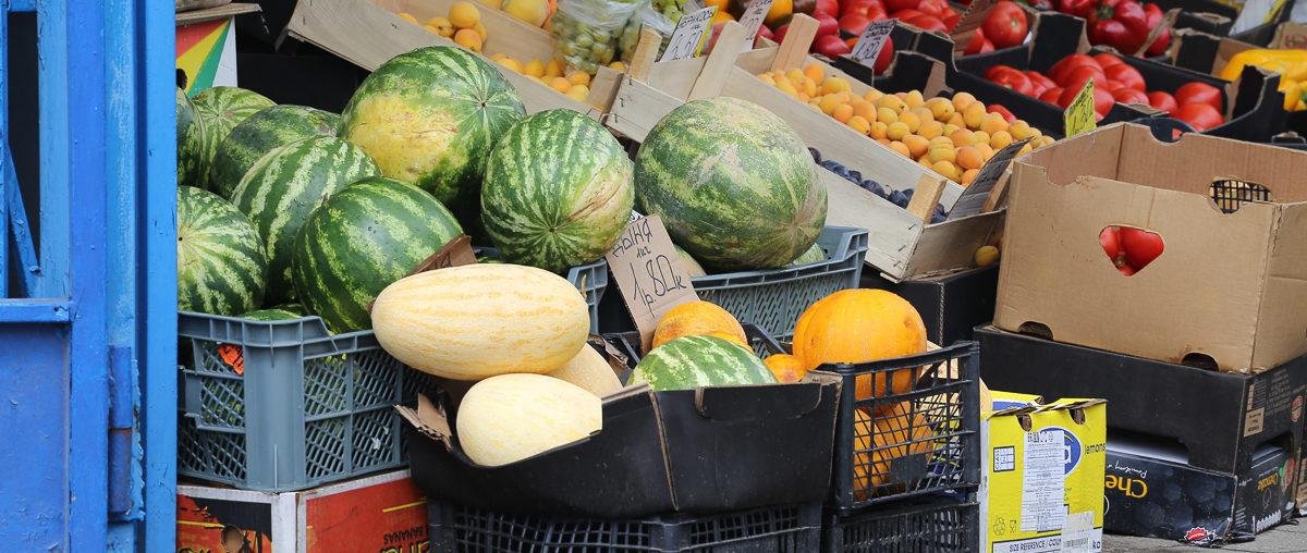 Что почем. На сколько подешевели помидоры, перец и арбузы на барановичских рынках