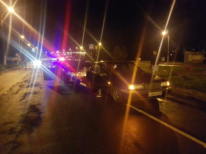 Две машины переехали мужчину на нерегулируемом пешеходном переходе в Орше