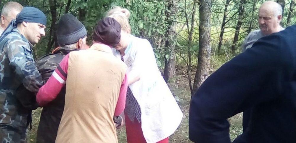 Пенсионер ушел за ягодами и потерялся в Ганцевичском районе. В лесу он провел семь дней. Видео