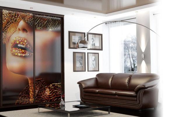 Красивые изображения на стеклянных поверхностях