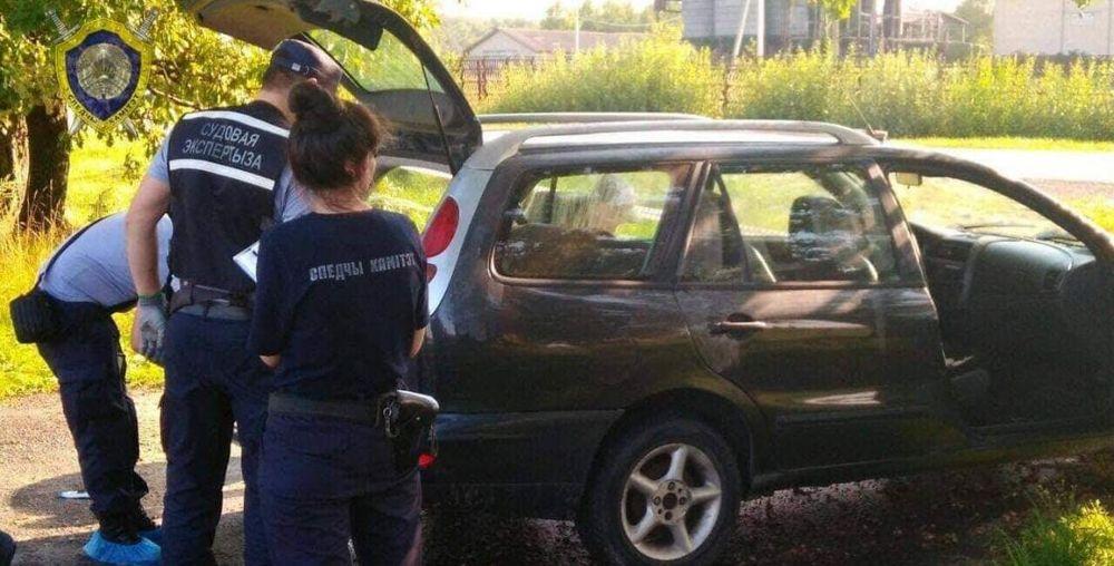 Тело убитого минчанина нашли в багажнике машины под Глуском