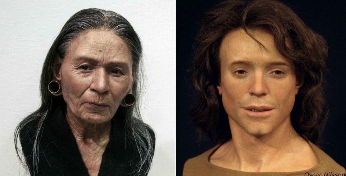 Археолог показал, как выглядели люди, которые жили за тысячи лет до нас и результат вас поразит