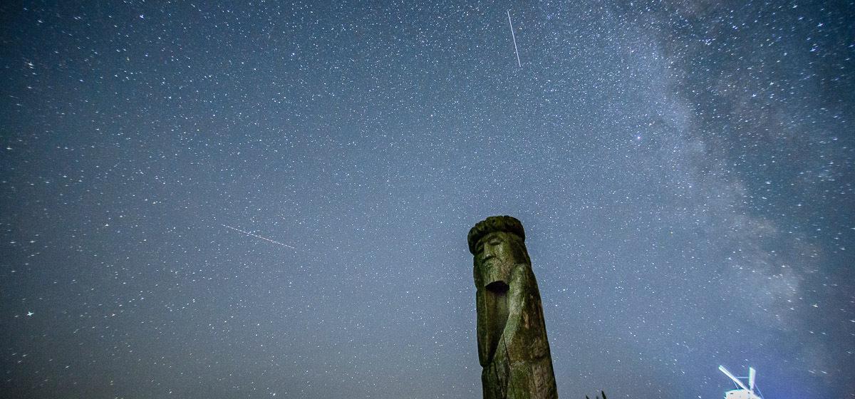 До 80 метеоров в час. Сегодня белорусы смогут увидеть самый красивый звездопад года
