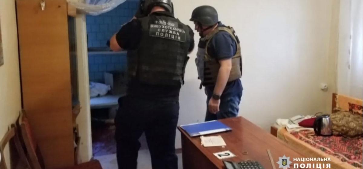 В больнице под Одессой взорвали гранату. Есть погибшие. Видео