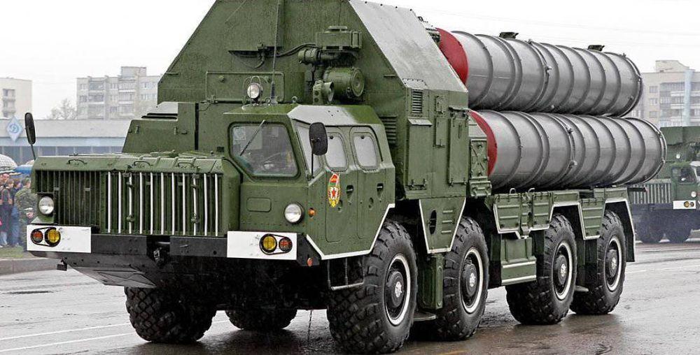 Ракетный комплекс С-300 попал в аварию под Полоцком