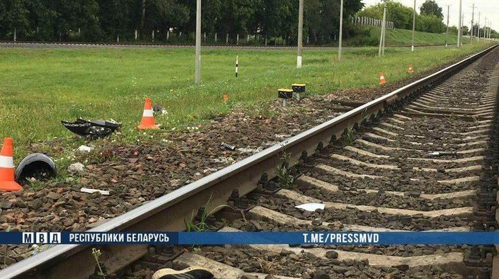 Школьник на скутере пытался проскочить железнодорожный переезд на «красный» в Шклове – ему оторвало ноги