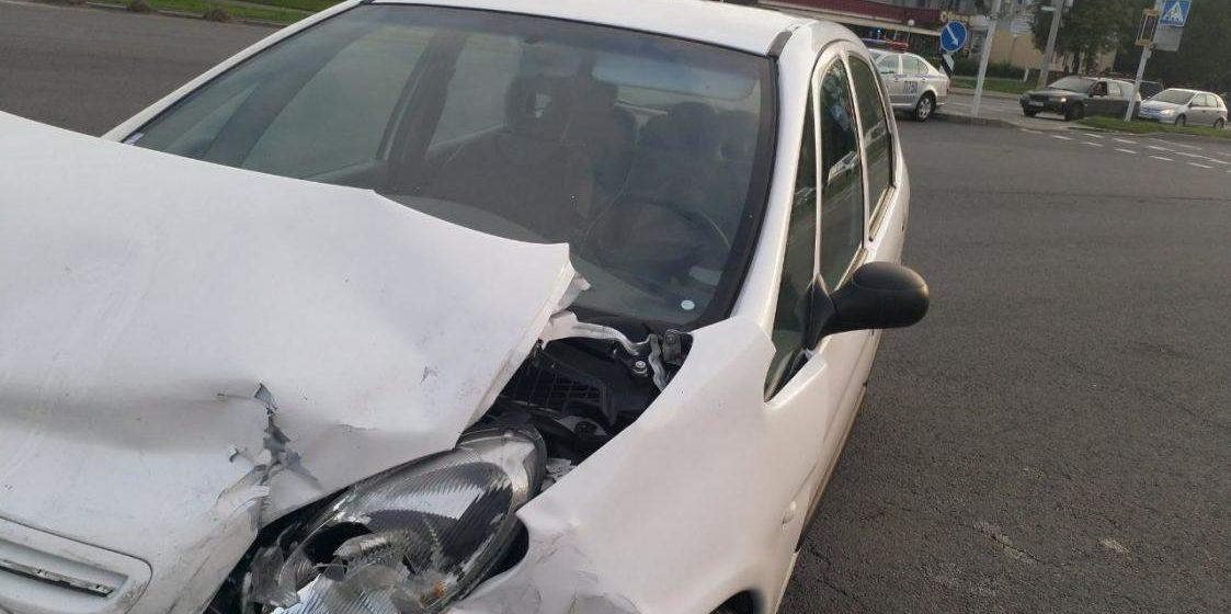 Тройное ДТП произошло в Минске из-за приступа судороги у водителя Видео