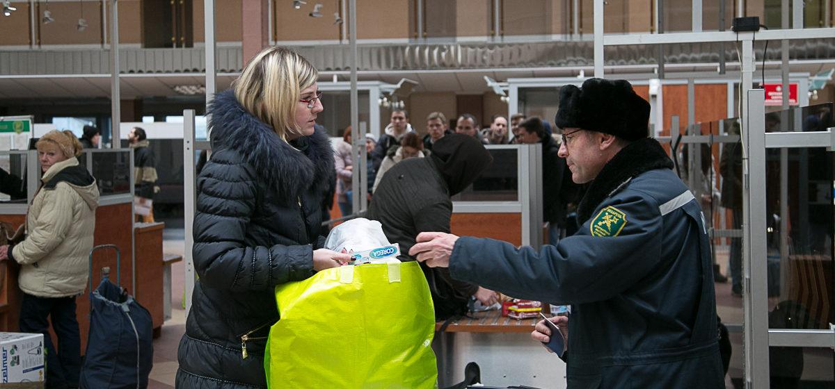 Белорусы будут по-новому ввозить товары из-за границы. Изменения есть и по алкоголю и сигаретам