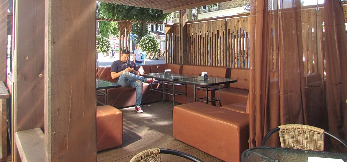 Террасы кафе, ресторанов, баров и кофеен в Барановичах, которыми запомнилось лето