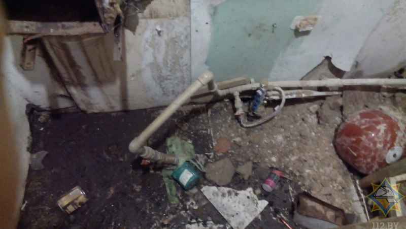 Котел взорвался в жилом доме в Барановичском районе