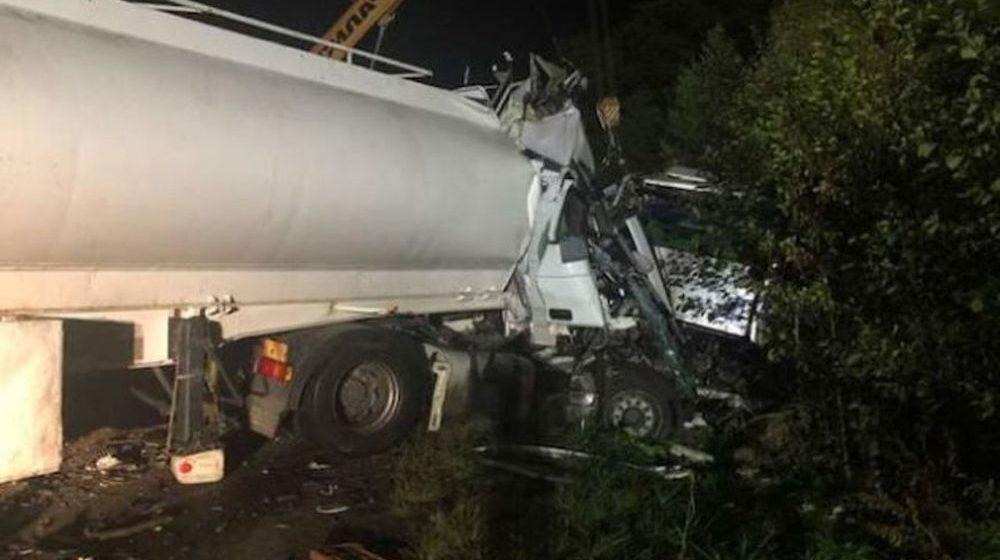 Цистерна влетела в автобус в Житомирской области — погибли 9 человек