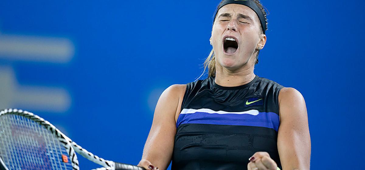 Арина Соболенко блестяще победила на теннисном турнире в Китае