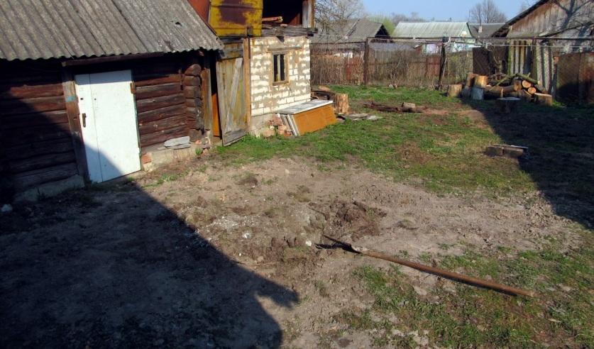 Место, где нашли труп молодого человека. Фото: Следственный комитет