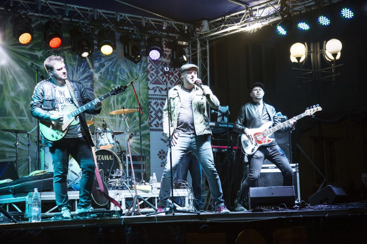 Выступление группы J:морс в Ляховичах. Фото: Ирина МУХАРЕВСКАЯ