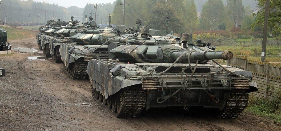 Белорусские танки вернулись из России