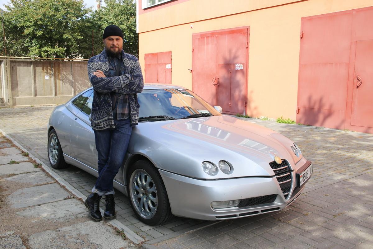 Трофим Шулейко - владелец автомобиля. Фото: Александр ЧЕРНЫЙ