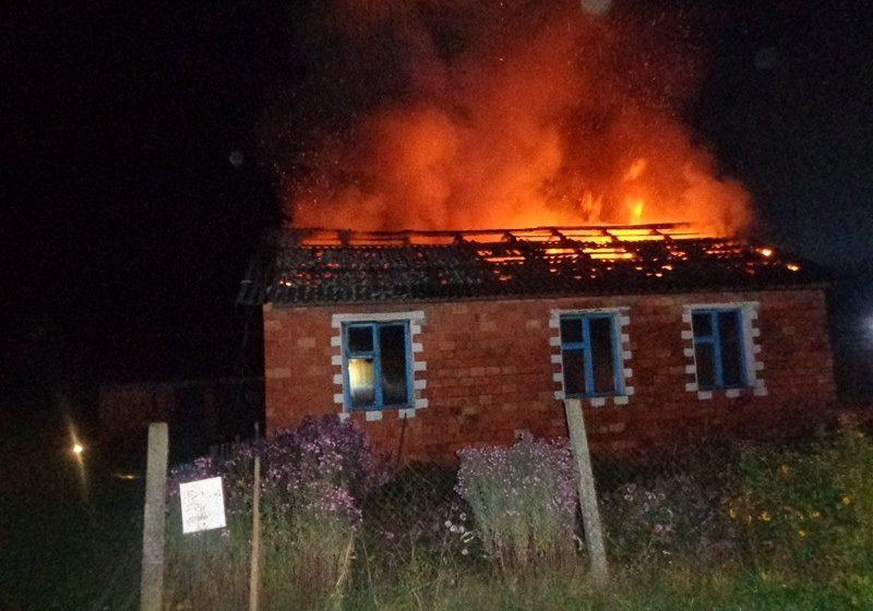 В Барановичском районе на пожаре погиб мужчина