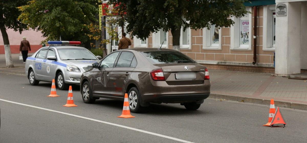 Женщина попала под автомобиль в Барановичах