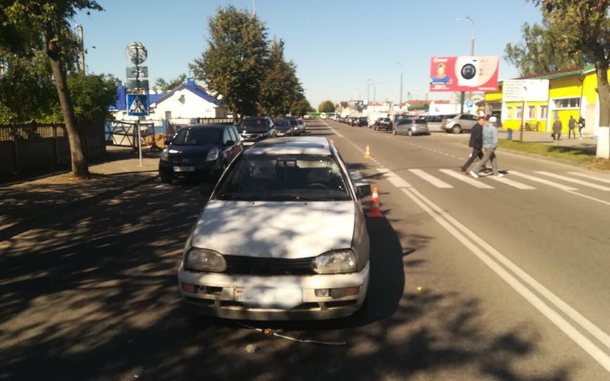 Легковой автомобиль сбил ребенка в Барановичах