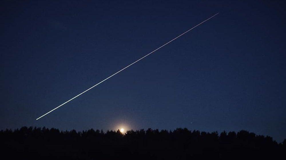 Яркий метеор пролетел ночью над Барановичами. Еще несколько видели в городах Беларуси и Литвы