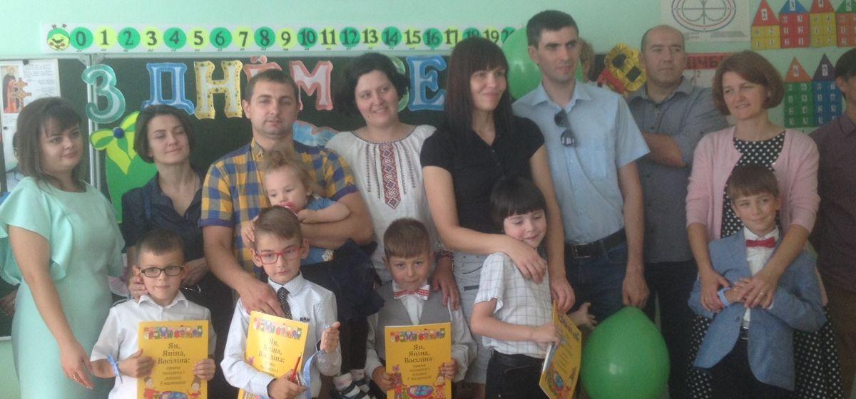 ТБМ павіншавала беларускамоўных вучняў у Баранавічах з пачаткам навучальнага года