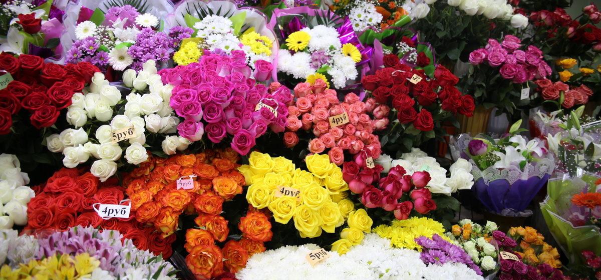 В Барановичах к 8 Марта заработает цветочная ярмарка