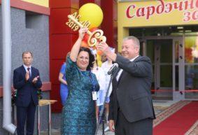 Новый детский сад торжественно открыли в Барановичах. Фоторепортаж