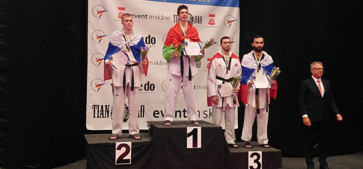 Спортсмен из Барановичей завоевал титул чемпиона Европы по таэквондо
