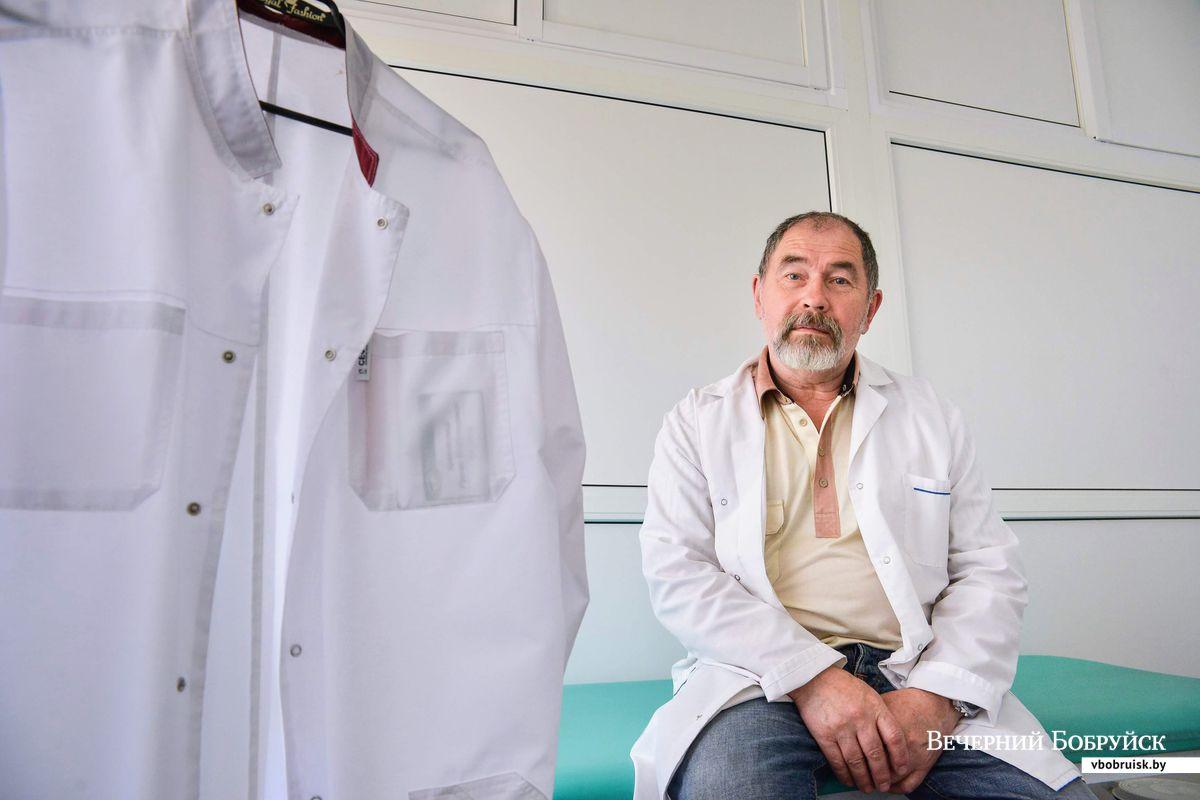 Врач-маммолог медицинского центра «Тари» Валерий Сидубаев. Фото: Александр ЧУГУЕВ, «вечерний бобруйск»
