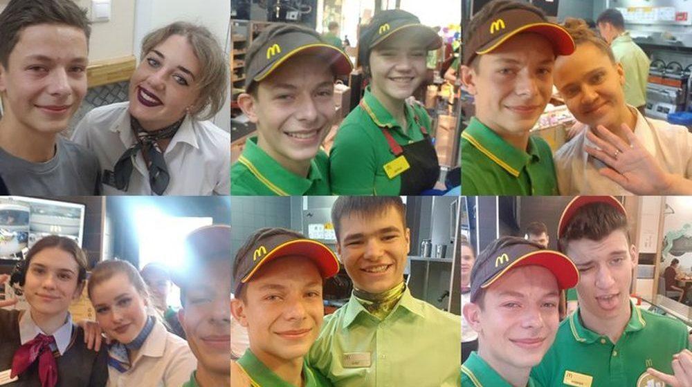 Вот это поворот: школьник из Барановичей поработал в Москве в «Макдоналдсе» и рассказал об этом