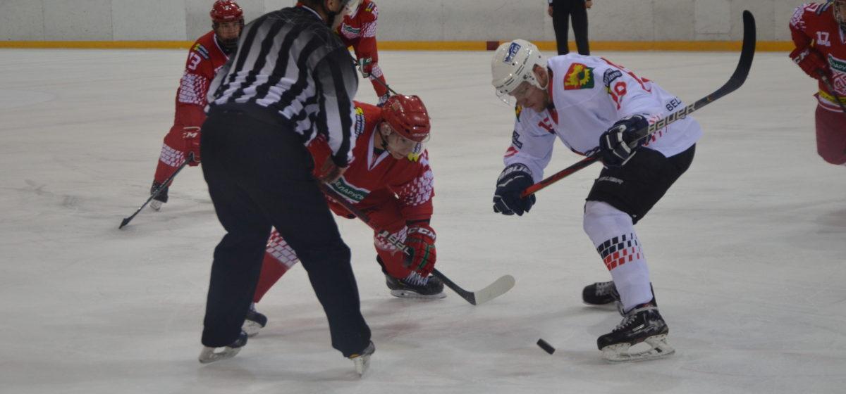 Как сыграл хоккейный «Авиатор» против молодежной сборной Беларуси