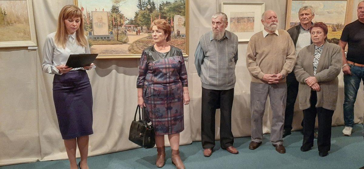 В Барановичах состоялось открытие выставки памяти художника Константина Максимцова