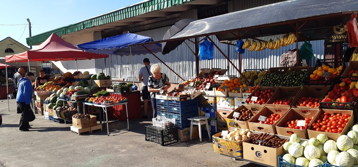 Что почем. Сколько стоят перец, грибы и арбузы на барановичских рынках