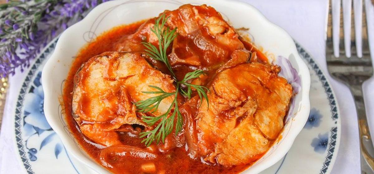 Вкусно и просто. Заливная рыба в томате